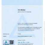 Zertifikat Fachplaner